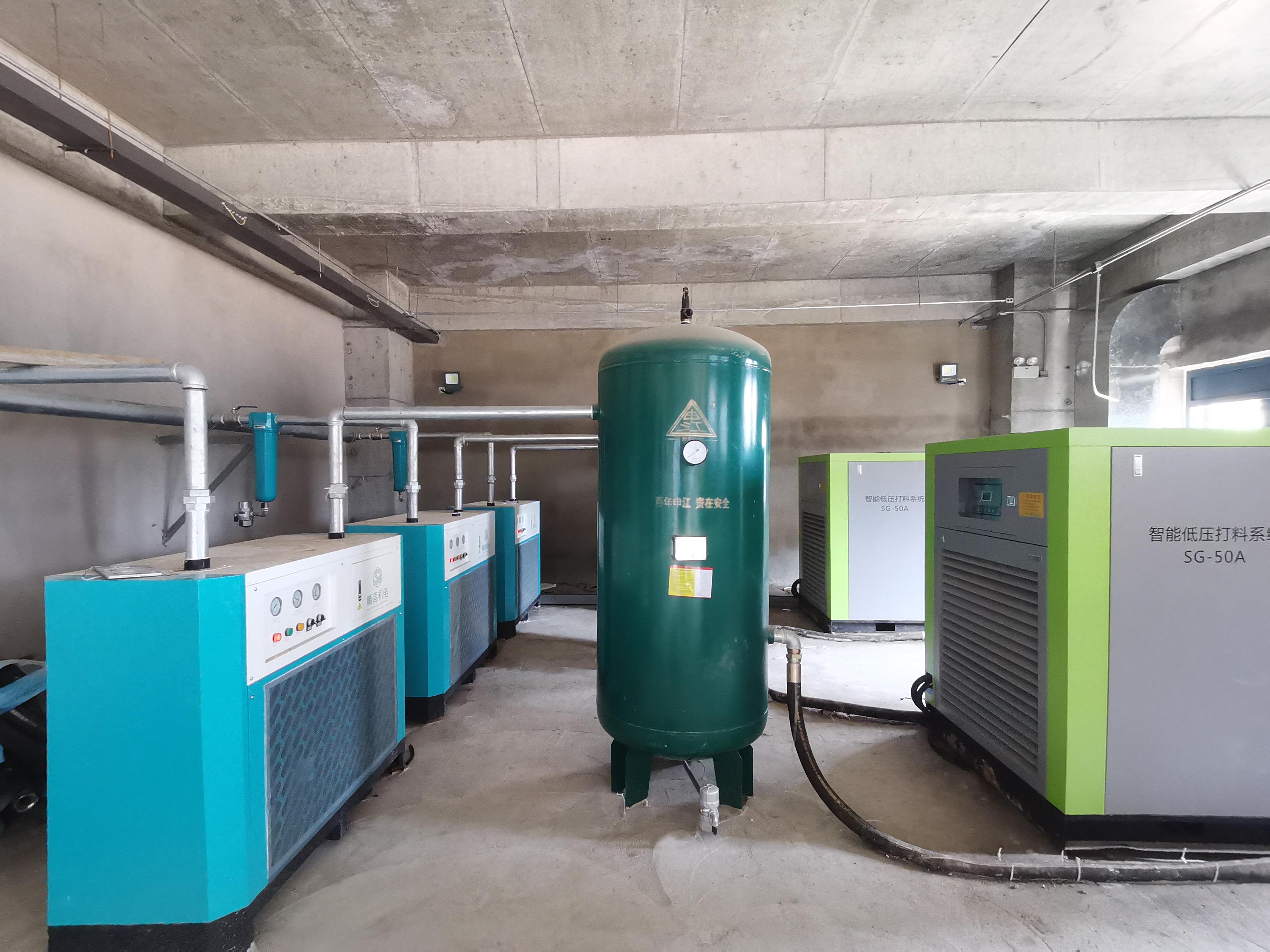 顺高为中联定制智能低压粉料输送系统助力山东绿色新型建材