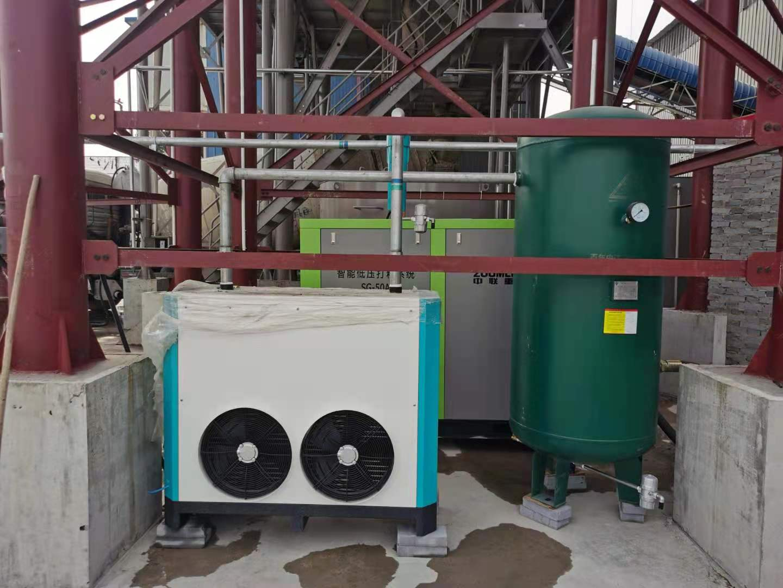 金誉建材见证中联定制款砼站智能低压打料系统的高效低噪环保