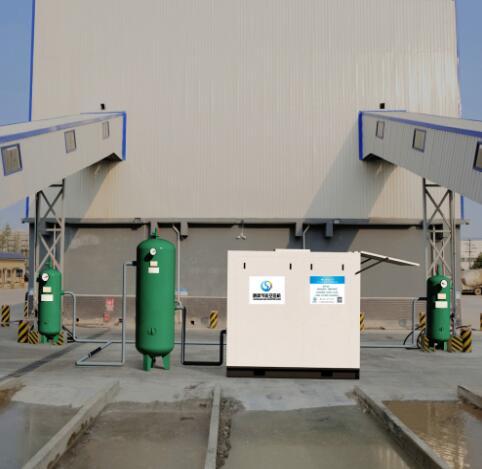 顺高低压螺杆空压机水泥输送系统!